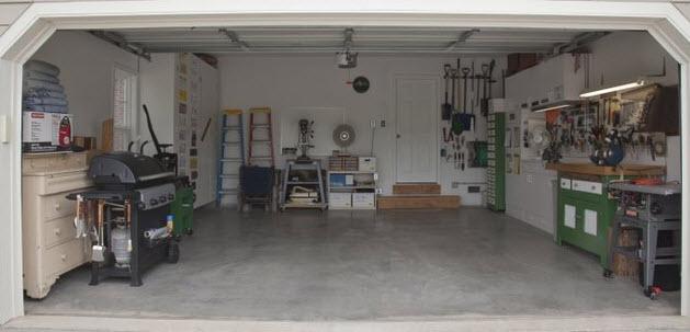 5 tips for a clean garage workshop www for Design your own garage workshop