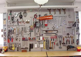 Image Result For Workbench With Tool Storage