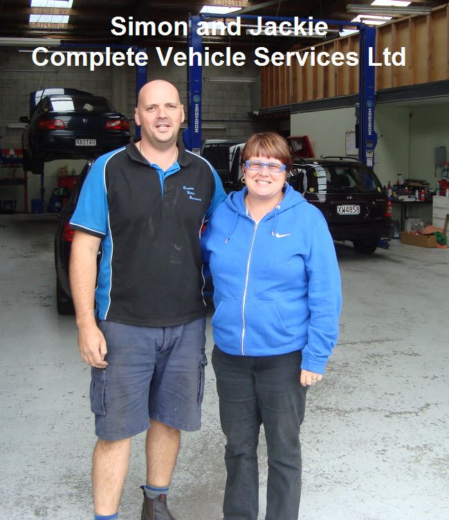 Simon and Jackie Moody of Complete Vehicle Services
